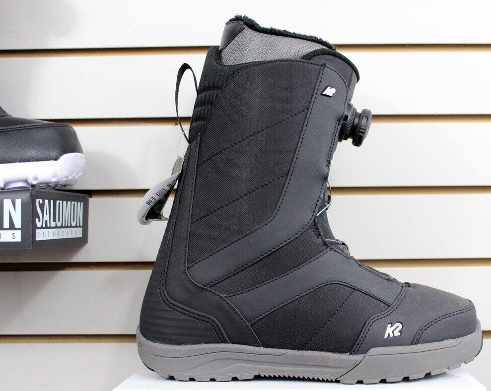 K2 Raider Boa Snowboard Boots Men's Size 9 Black New 2020
