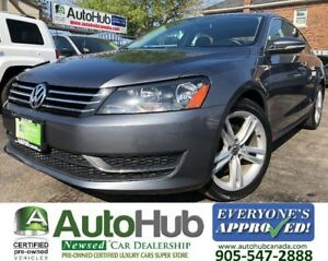 2012 Volkswagen Passat COMFORT-LINE-LEATHER-HEATED SEATS-SUNROOF