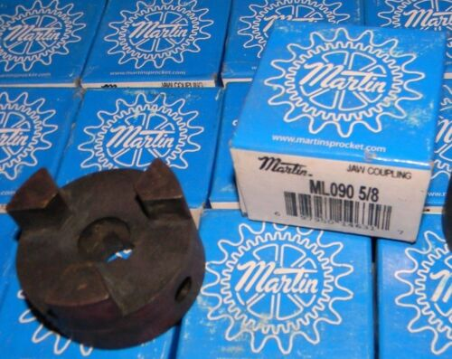 "ONE Martin ML090  5/8 "" Inch Shaft  2-1/8"" OD 3 Jaw Drive Coupler Motor Coupling"
