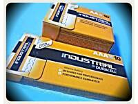 20 AA + 20 AAA BRAND NEW UNOPENED GENUINE DURACELL INDUSTRIAL BATTERIES EXPIRY 2024