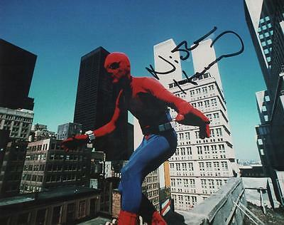 "Set Of 4 Spiderman 1970's TV Series 7"" x 5"" Photo Prints  Nicholas Hammond"