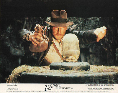 Raiders Of The Lost Ark lobby card print # 1 - Harrison Ford - 8 x 10 inches