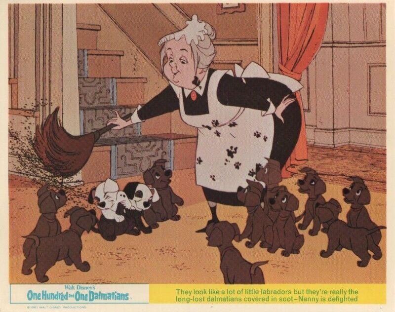 101 Dalmatians lobby card print - Walt Disney - 8 x 10 inches