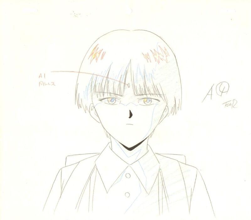 Anime Genga not Cel Yu Yu Hakusho 4 pages #110