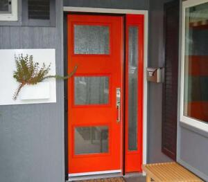 MODERN DOORS, CONTEMPORARY DOORS, FRONT & SIDE ENTRY DOORS, PATIO DOORS REPLACEMENT & INSTALLATION - FREE ESTIMATES