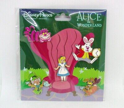 Disney Trading Pins Alicia en el País de las Maravillas Booster Set...