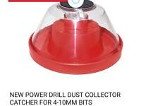 Drill dust collector