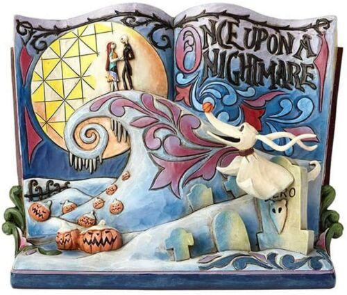 Enesco Jim Shore Disney Traditions The Nightmare Before Christmas Storybook Ston