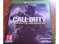 Xbox One Call of Duty Infinite Warfare game in mint condition like new not for ps4