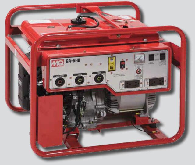 Multiquip GA6HB Portable Generator With Honda Motor 120