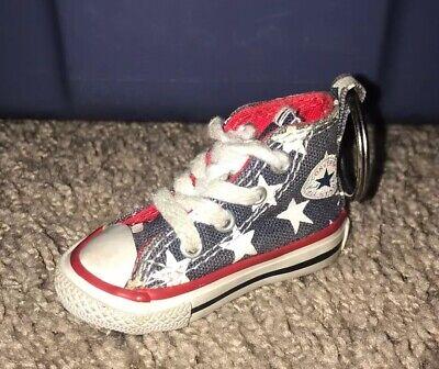 American Flag Converse Chuck Taylor Shoe Keychain