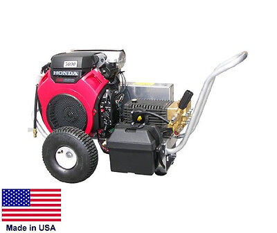 Pressure Washer Commercial - Portable - 8 Gpm - 3000 Psi - Gp Pump - 20 Hp Honda