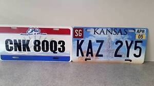 Supernatural KAZ 2Y5 and CNK 80Q3 License Plates $20! South Windsor Hawkesbury Area Preview