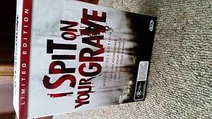 I Spit On Your Grave (Trilogy)  Limited Edition R4 DVD Box Set. South Windsor Hawkesbury Area Preview
