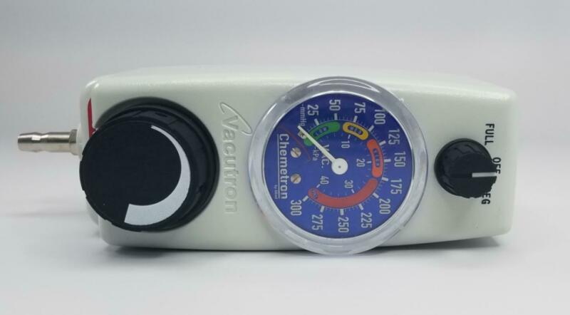 Allied 22-12-1206 Surgical Vacutron Suction Regulator Barb Outlet Ohmeda Adapter