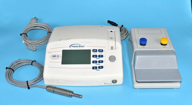 Nouvag AG MD11 Dental Electric Control Console & Motor System 110V - Used