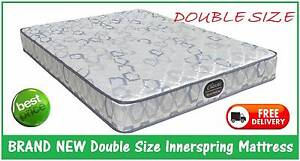 BRAND NEW Double Size Innerspring Mattress - DELIVERED FREE New Farm Brisbane North East Preview