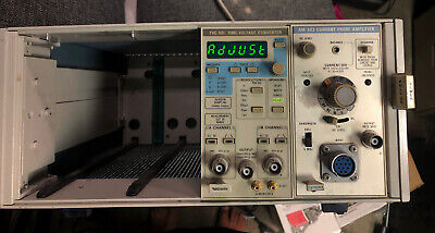 Tektronix Tm504a With Tvc501 Time Voltage Converter And Am503 Probe Amplifier
