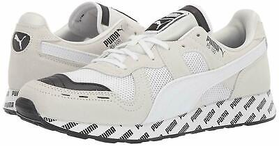 PUMA RS-100 SUMMER LOW TRAINERS SPORTS SNEAKER MEN SHOES BLUCK/WHITE SIZE 12 NEW