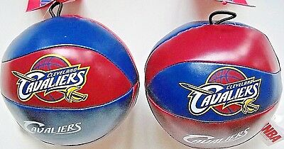 Cleveland Cavaliers Logos (ONE CLEVELAND CAVALIERS MINI-SOFTEE POLYESTER PLAY BASKETBALL WITH TEAM LOGOS )
