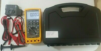 Lightly Used Fluke 789 Process Meter W Leads More 239609 239610