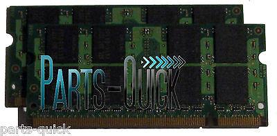 2gb Kit (2 X 1gb) Ddr2 Sodimm Compaq Presario V6000 Series Laptop Memory Ram
