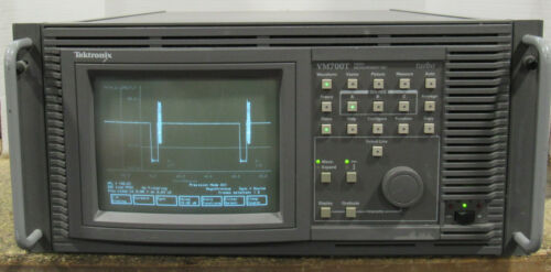 Tektronix Model VM700T Monitor Video Measurement Set Tested and Working