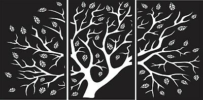 Dxf For Cnc Plasma Laser And Router Cut -cnc Vector Tree Panel Art