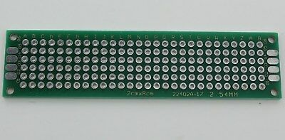 12410 Pcs Double Sided Universal Pcb Proto Prototype Perf Board 28 2x8 Cm