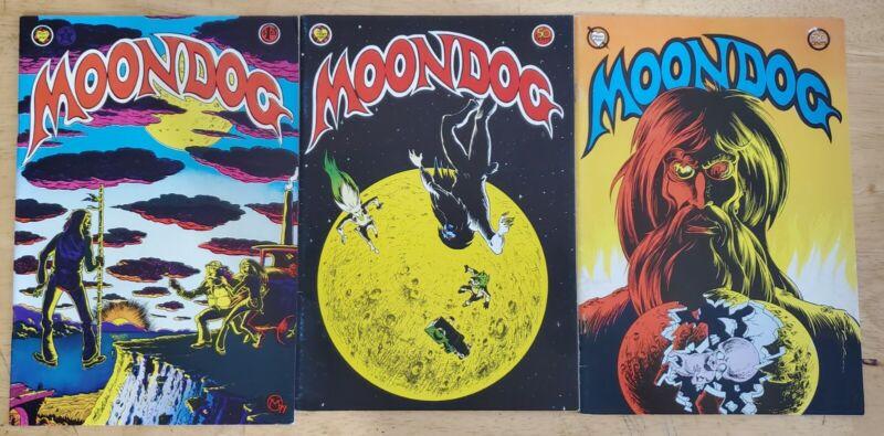 Moondog 2, 3 & 4 (1973) Underground Comic FINE Free Shipping!