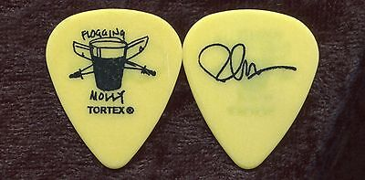 FLOGGING MOLLY 2008 Float Tour Guitar Pick!!! BOB SCHMIDT custom concert -