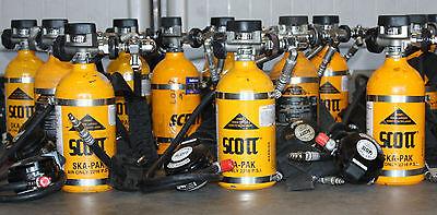 Scott Ska-pak 5min Escape Saba Emergency Escape Bottle Remote Mobile Air Scba