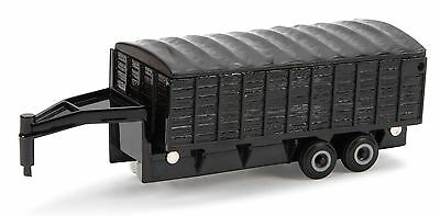 Used, ERTL 1:64 *BLACK* 5th Wheel Tilt Bed *GRAIN TRAILER* w/Cover *NEW!* for sale  Shipping to India