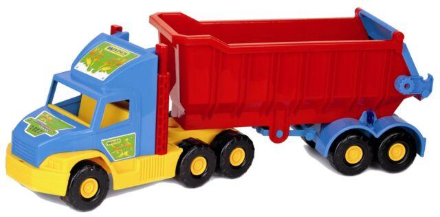 Wader Supertruck 75cm Toy Truck Kipper Tipper Function Truck 36400 New