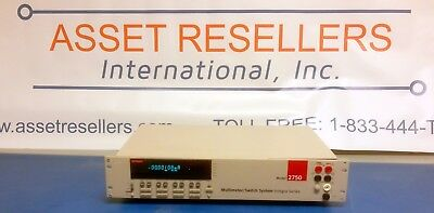 Keithley 2750 Integra Series Multimeterswitch System