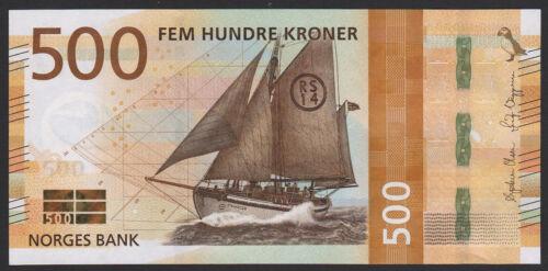 Norway 500 Kroner 2018 UNC NEW Ship