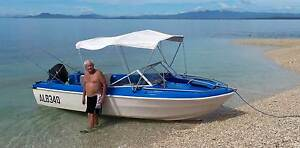 Carribean 5.3mtr Fibre glass boat Currajong Townsville City Preview