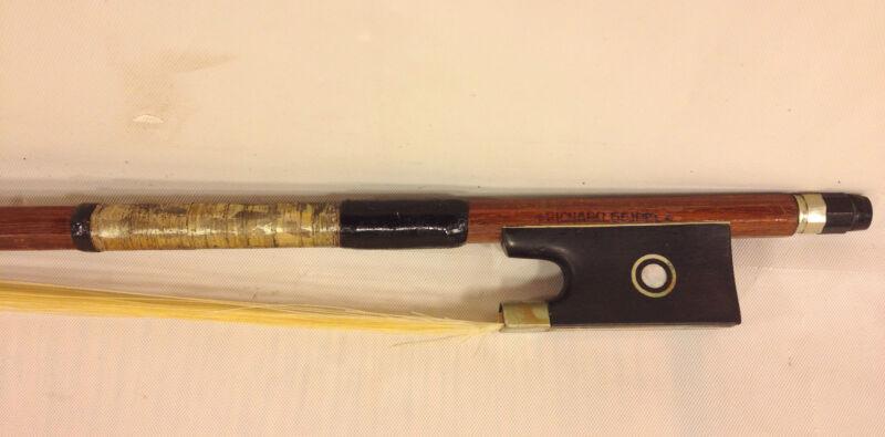 Antique Richard Geipel Violin Bow Czechoslovakia