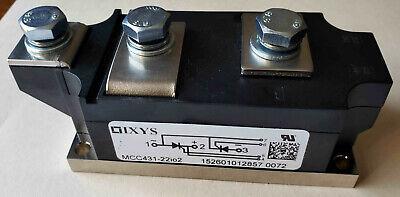 New Ixys Mcc431-22io2 Mcc Dual Thyristor Module W Bus Bolts Scr 800a 2200 Piv