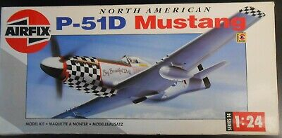 NORTH AMERICAN P-51D Mustang 1:24 AIRFIX 14001
