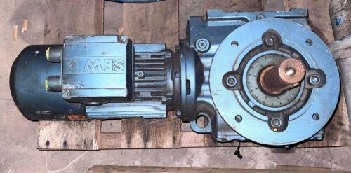 Sew DFT80K4BMG1HRTF-IS Eurodrive Motor, 0.75HP, 1700RPM, 60Hz, Used