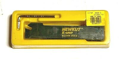 Newkut Tool Holder For Parting Grooving Kgthr 2525-5 K-grip Made In Israel