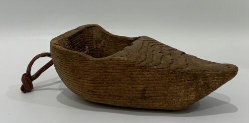 Antique Native American Wood Primitive Scoop/Funnel/Ceremonial Accessory?  #1