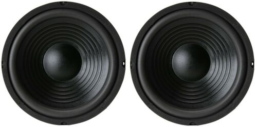 "NEW Pair (2) 8"" inch Classic Woofer Heavy Duty Bass Speaker 200W 8 Ohm"