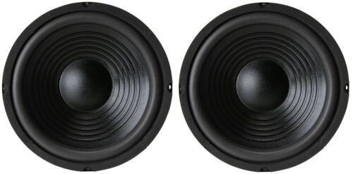 "NEW Pair (2) 10"" inch Classic Woofer Heavy Duty Bass Speaker 500W 8 Ohm"