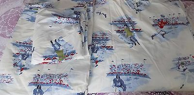 POTTERY BARN KIDS Duvet / Sheet Set TWIN - MVP SPORTS - NEW   **read listing**