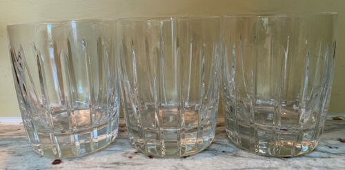 Lot of 3 - Double Old Fashioned Starfire (Concord Barw) by LENOX