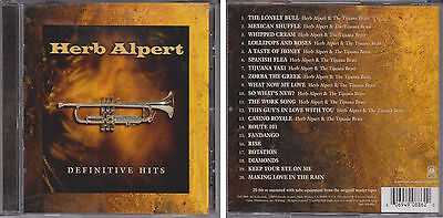 HERB ALPERT & TIJUANA BRASS Definitive Greatest Hits Collection 2001 CD Best