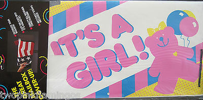 Magnetic Works Mail Box Wrap New In Package  Its A Girl