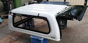 NEAR NEW GENUINE TOYOTA HILUX SR SR5 DUAL CAB CANOPY WHITE 040 Yagoona Bankstown Area Preview